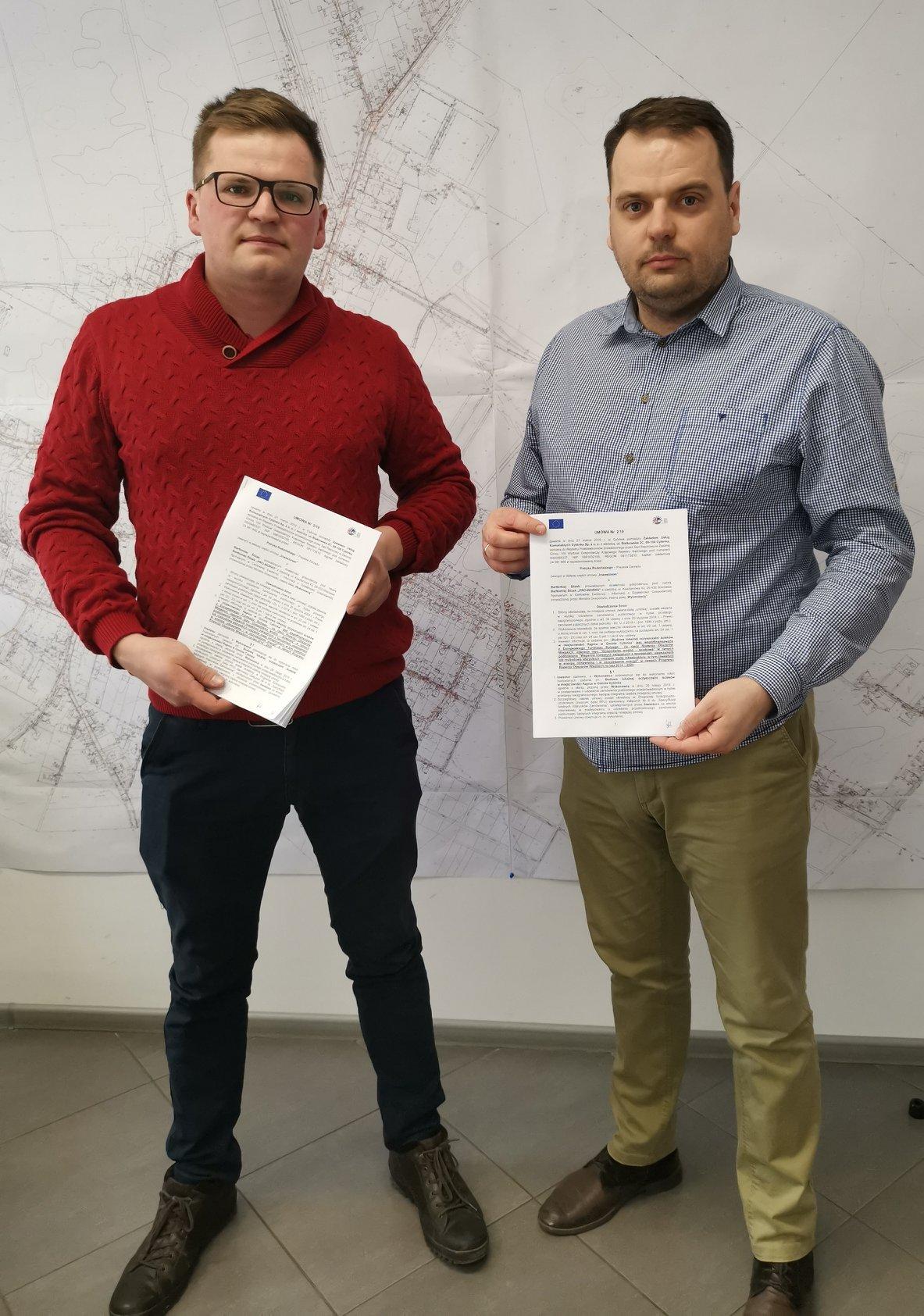 Umowa na oczyszczalnię w Rąpicach podpisana